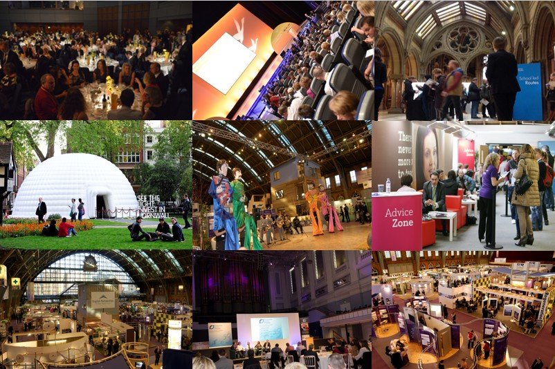 Event organisers venue sourcing