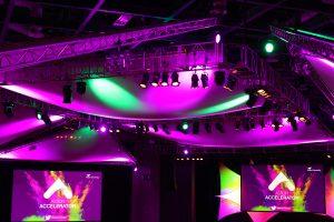Event lighting Aston