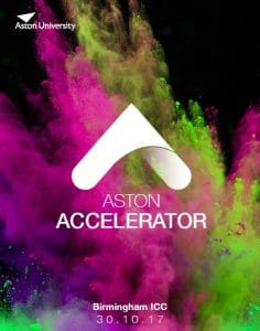 Aston accelerator event 2017